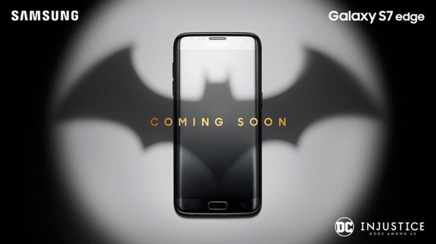 Lo anh dien thoai Samsung Galaxy S7 edge ban gioi han Batman-Hinh-2