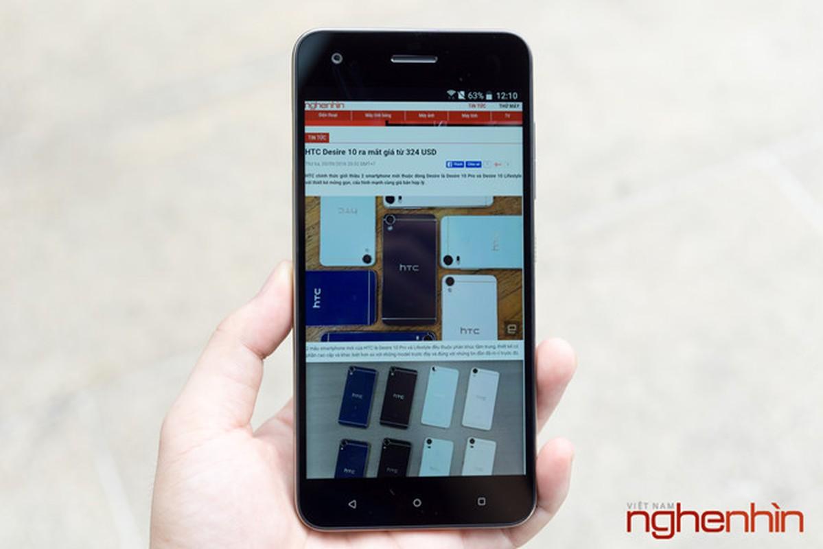 Danh gia nhanh HTC Desire 10 Pro dau tien tai Viet Nam