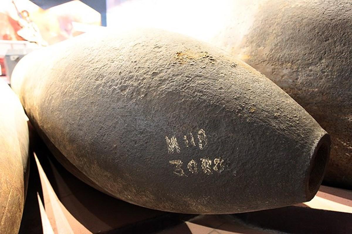 Cận cảnh loại bom M118 vừa được trục vớt tại chân cầu Long Biên - Ảnh 4