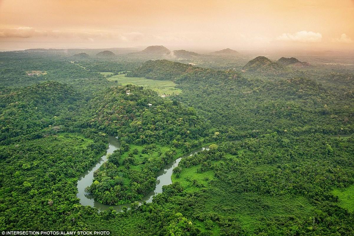 Belize: Hòn đảo Belize tạo ra danh sách nhờ vào cảnh quan tươi đẹp và được mô tả như một thiên đường của thợ lặn. Hình ảnh là các khu rừng nằm gần Belcampo Lodge