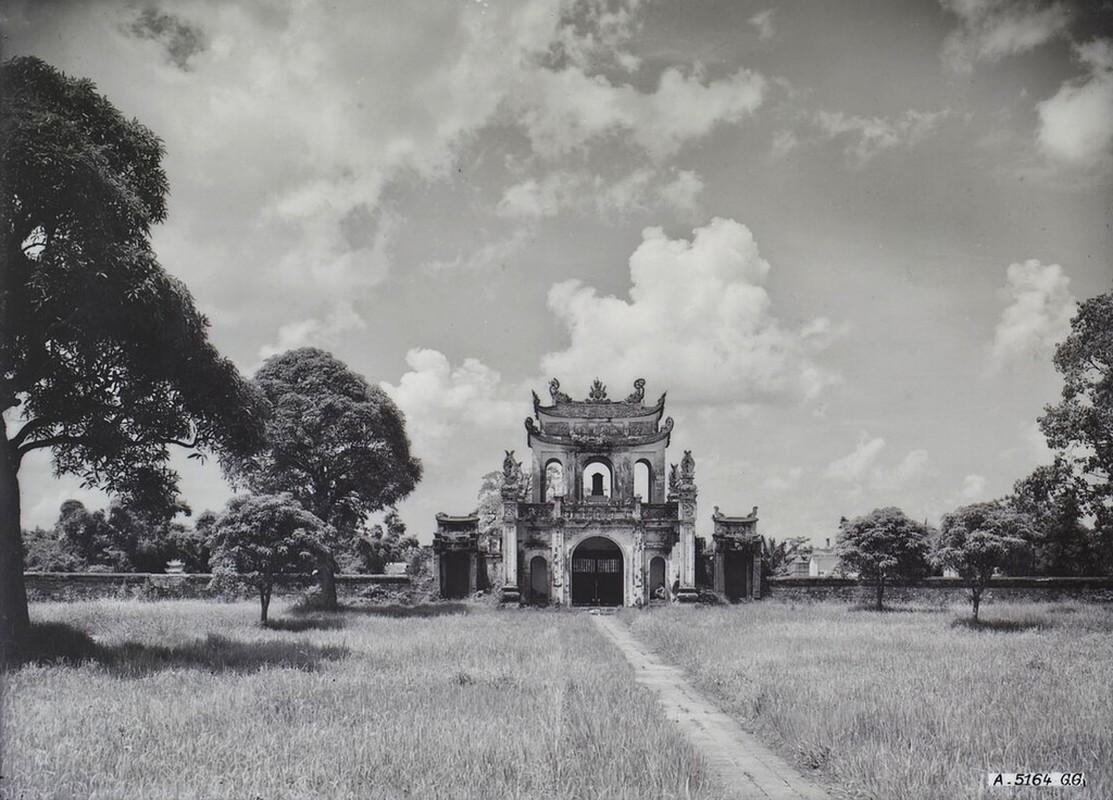 Dien mao Van Mieu - Quoc Tu Giam thap nien 1920-Hinh-2
