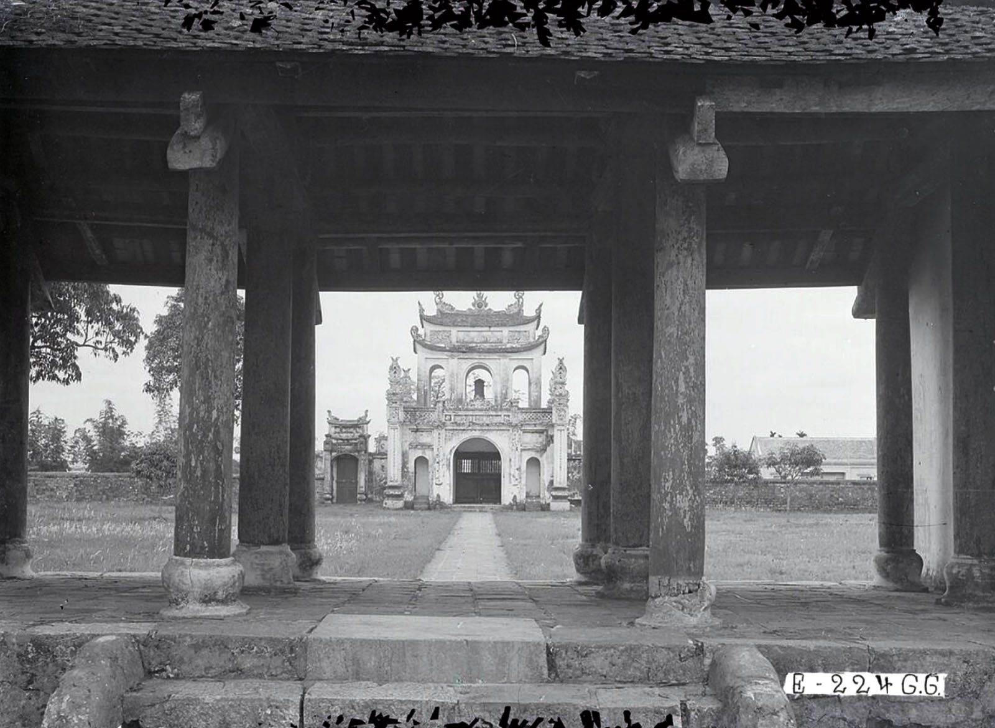 Dien mao Van Mieu - Quoc Tu Giam thap nien 1920-Hinh-4