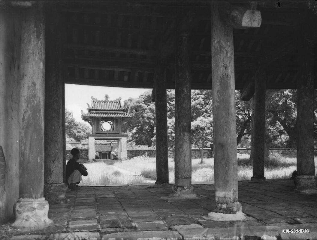 Dien mao Van Mieu - Quoc Tu Giam thap nien 1920-Hinh-5