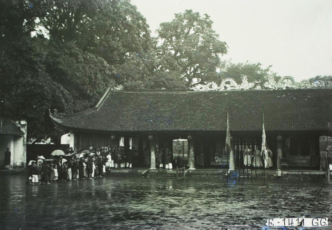 Dien mao Van Mieu - Quoc Tu Giam thap nien 1920-Hinh-8