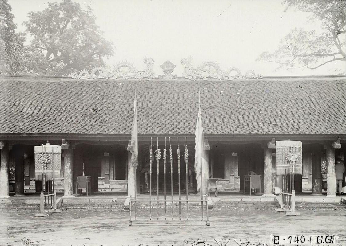 Dien mao Van Mieu - Quoc Tu Giam thap nien 1920-Hinh-9