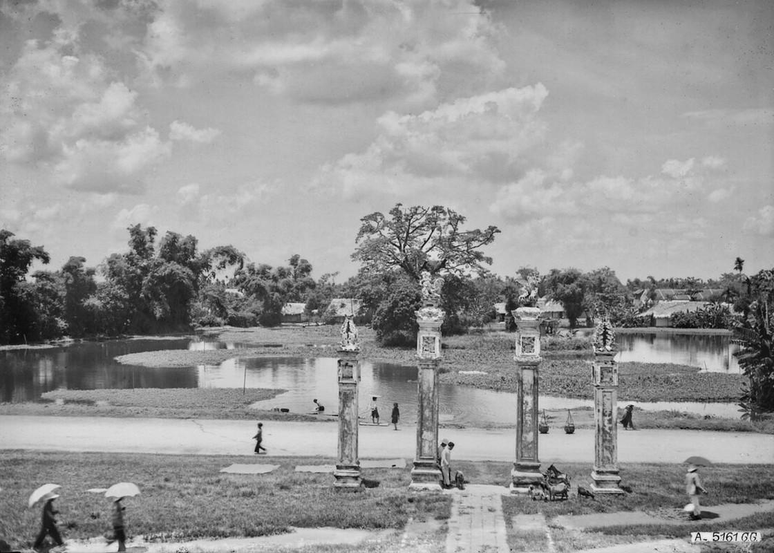 Dien mao Van Mieu - Quoc Tu Giam thap nien 1920