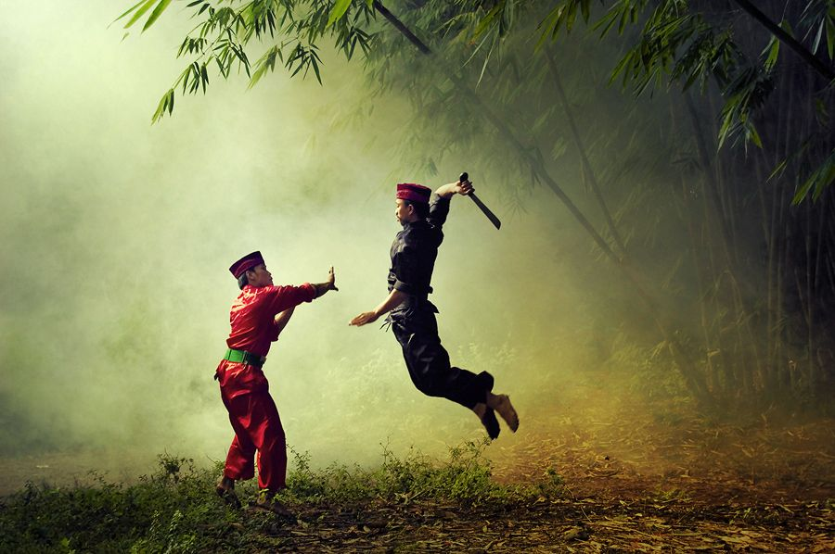 "Dieu thu vi ve Pencak silat - mon vo ""dac san"" Dong Nam A"