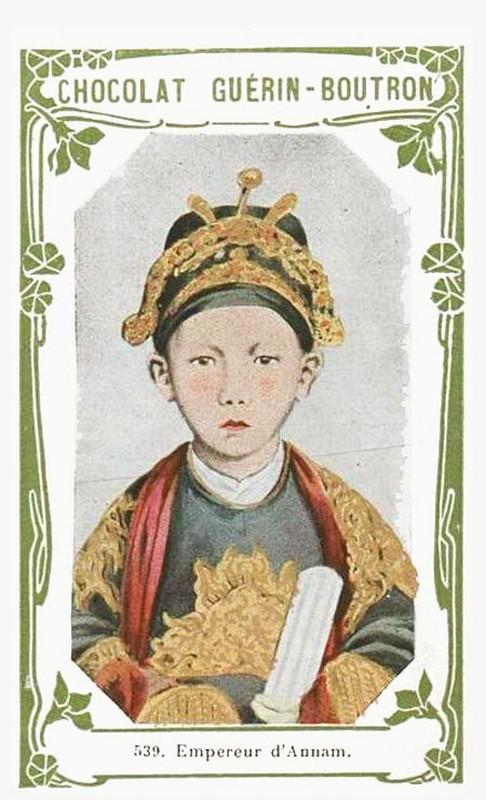 Hinh anh hiem co ve vua Duy Tan luc moi len ngoi-Hinh-5