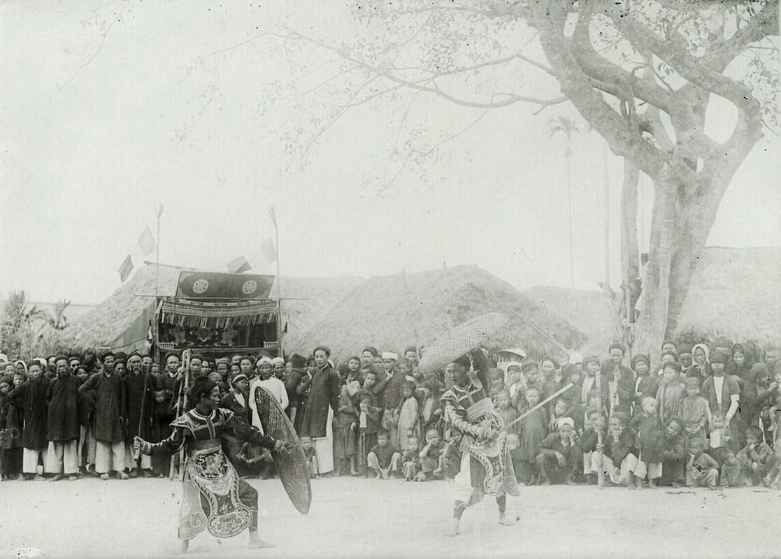 Hinh doc ve le hoi lang o Nam Dinh nam 1928-Hinh-6