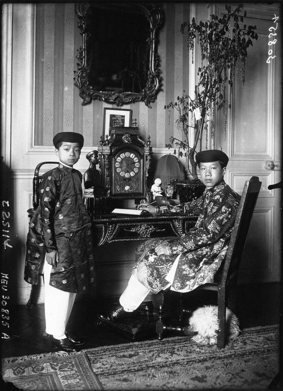 Hinh doc ve thoi tre o nuoc ngoai cua vua Bao Dai-Hinh-4