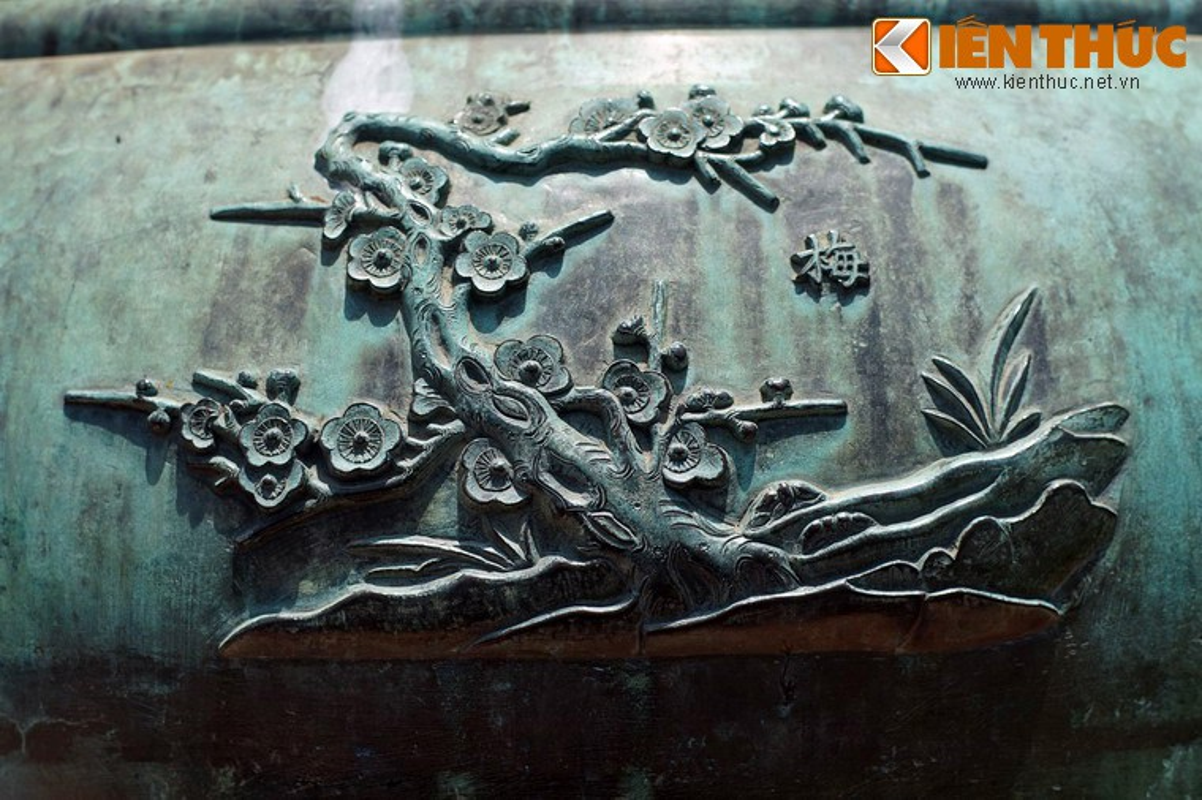 Kham pha hinh tuong cac loai hoa tren Cuu dinh nha Nguyen-Hinh-5