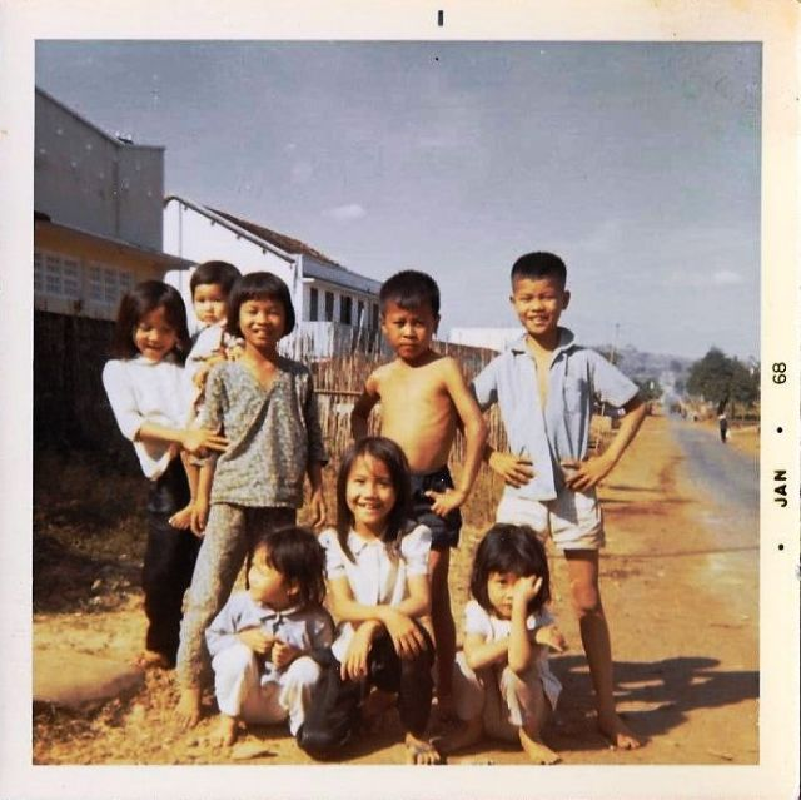 Doi thuong o An Loc nam 1968 qua anh cua linh My