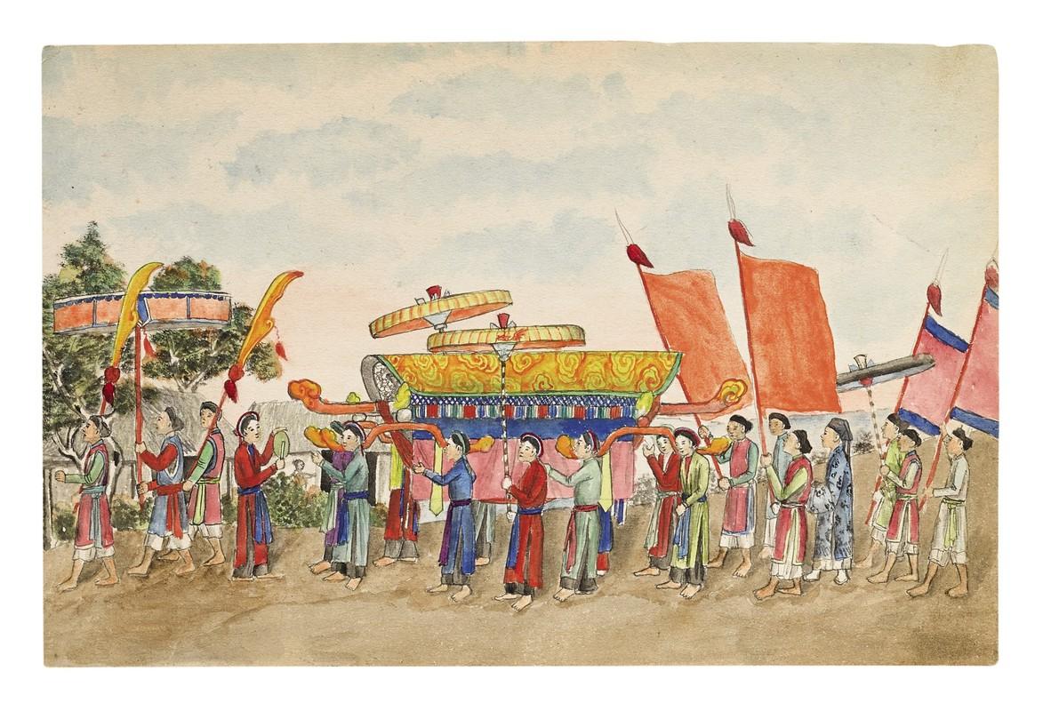 Bo tranh la ve doi song o Nam Dinh cuoi the ky 19-Hinh-2