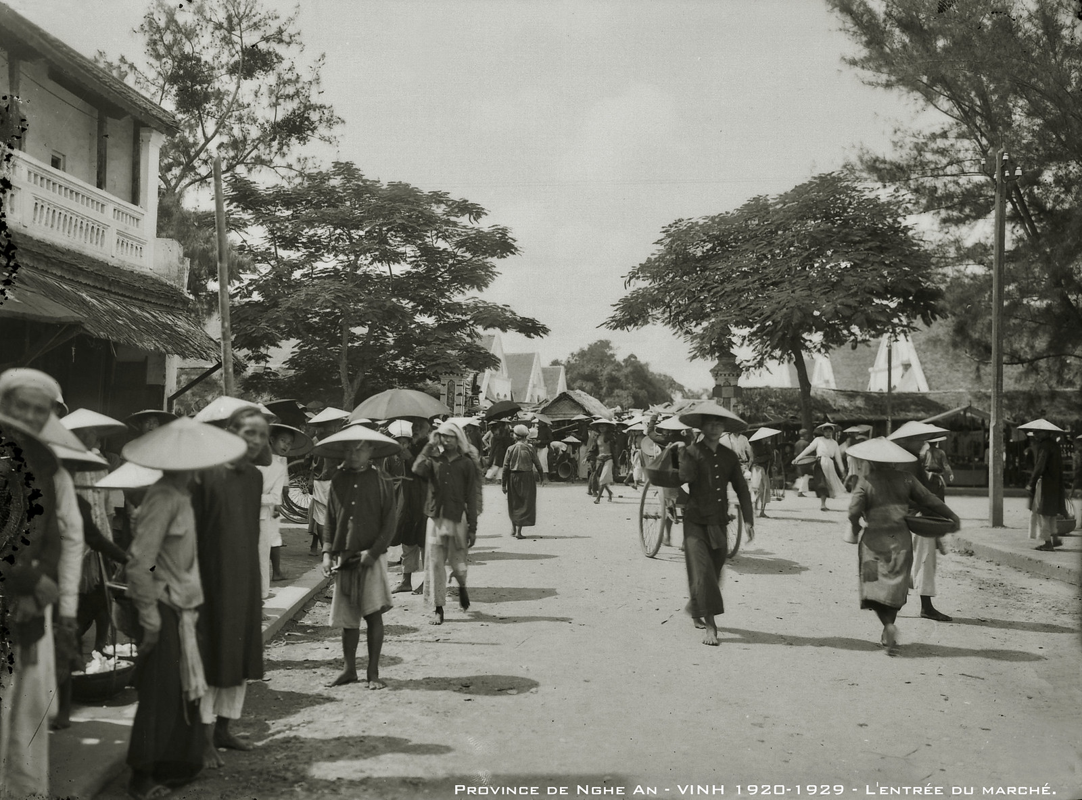 "Anh ""phai xem"" ve cuoc song o thanh Vinh thap nien 1920"