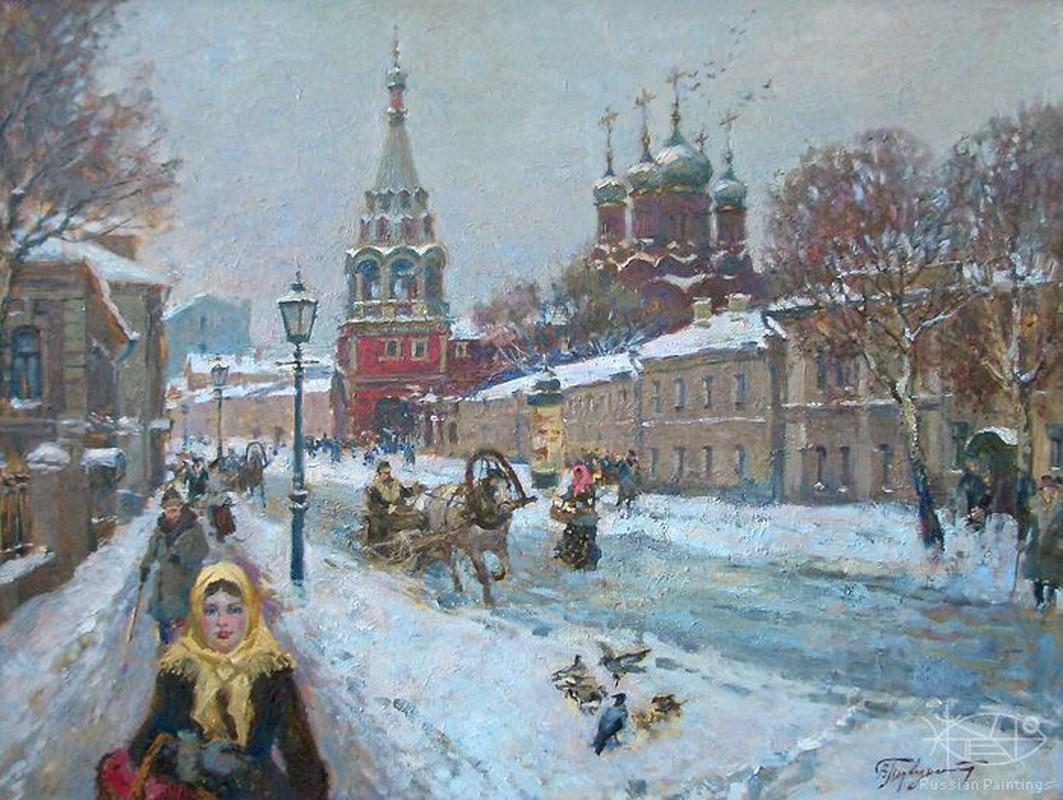 Rung ron truyen thuyet ve hon ma ba lao o Moscow