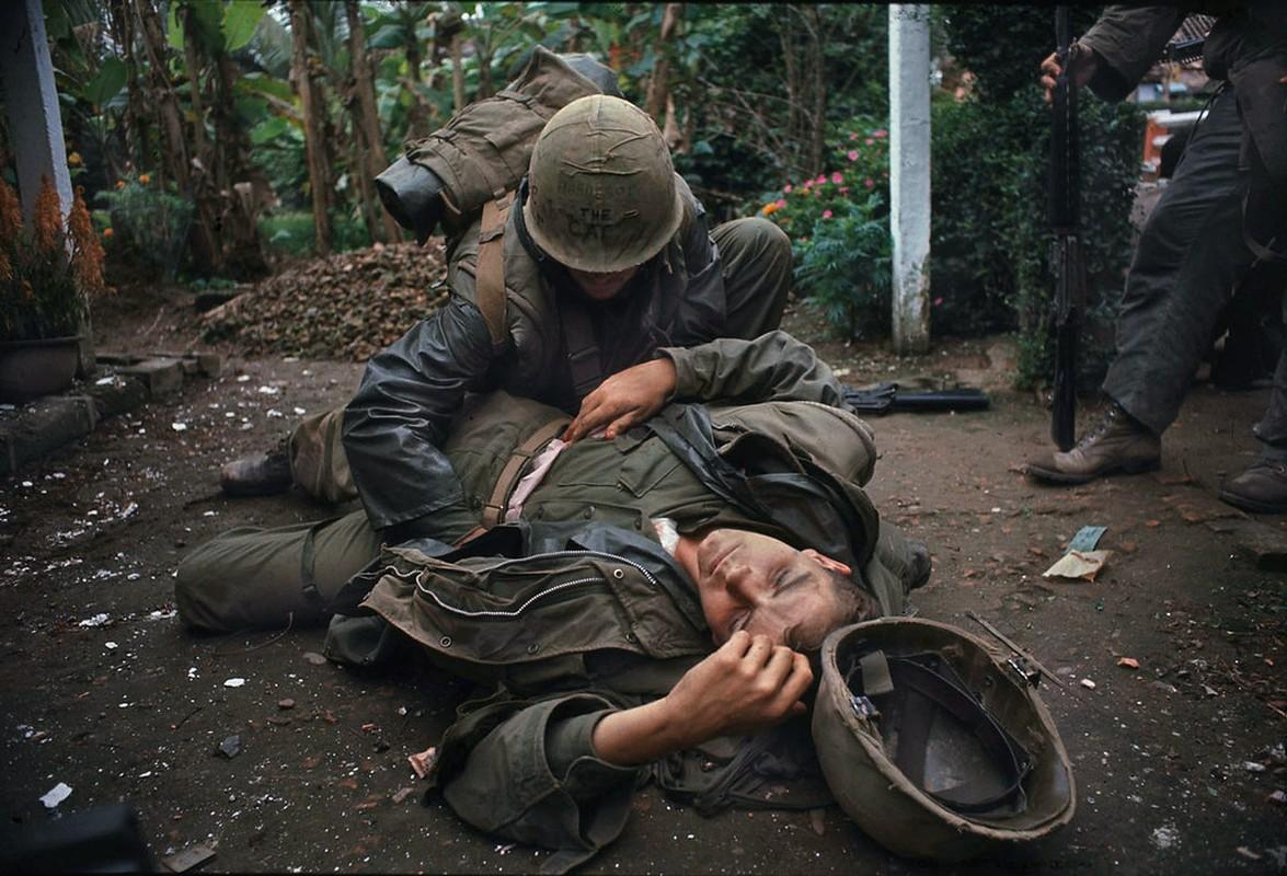 Anh cuc hiem ve chien si giai phong trong tran Mau Than 1968 o Hue-Hinh-7