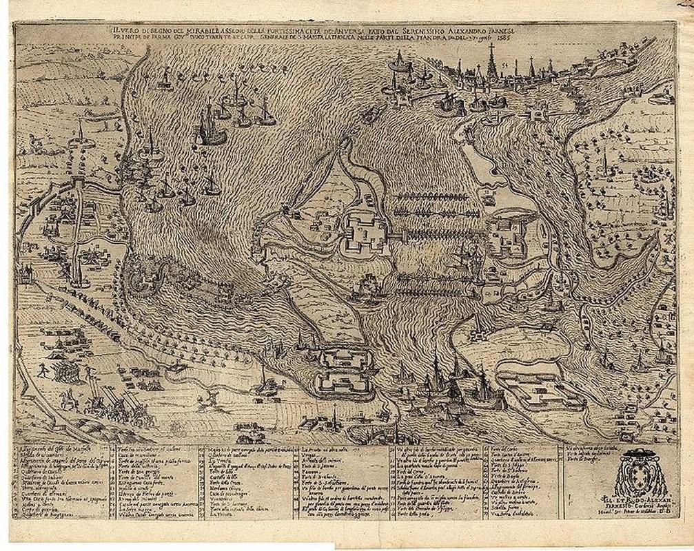 Chuyen khong the tin noi trong tran vay thanh Antwerp nam 1585