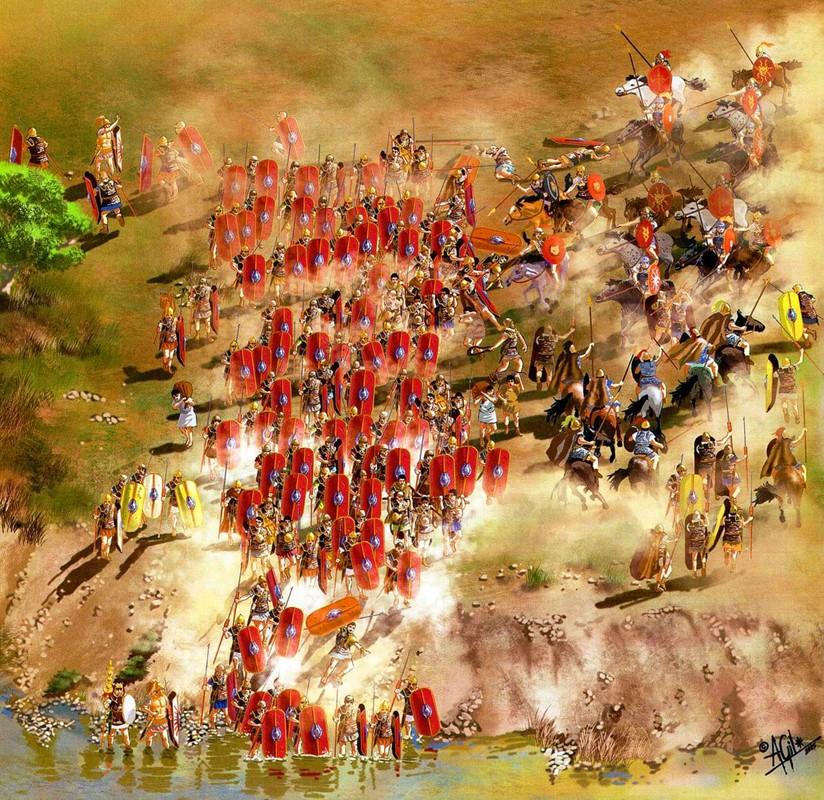 Diem lai nhung tran danh lam rung chuyen chau Au thoi co dai-Hinh-7