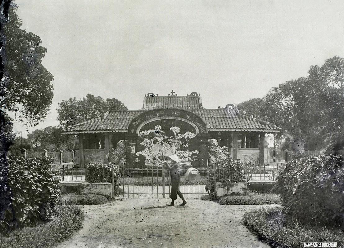 Hinh doc ve lang Cha Ca o Sai Gon thap nien 1920