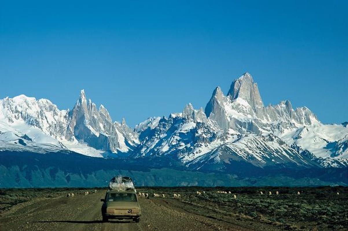 Canh tuong khong tin noi o vuong quoc bang gia Patagonia