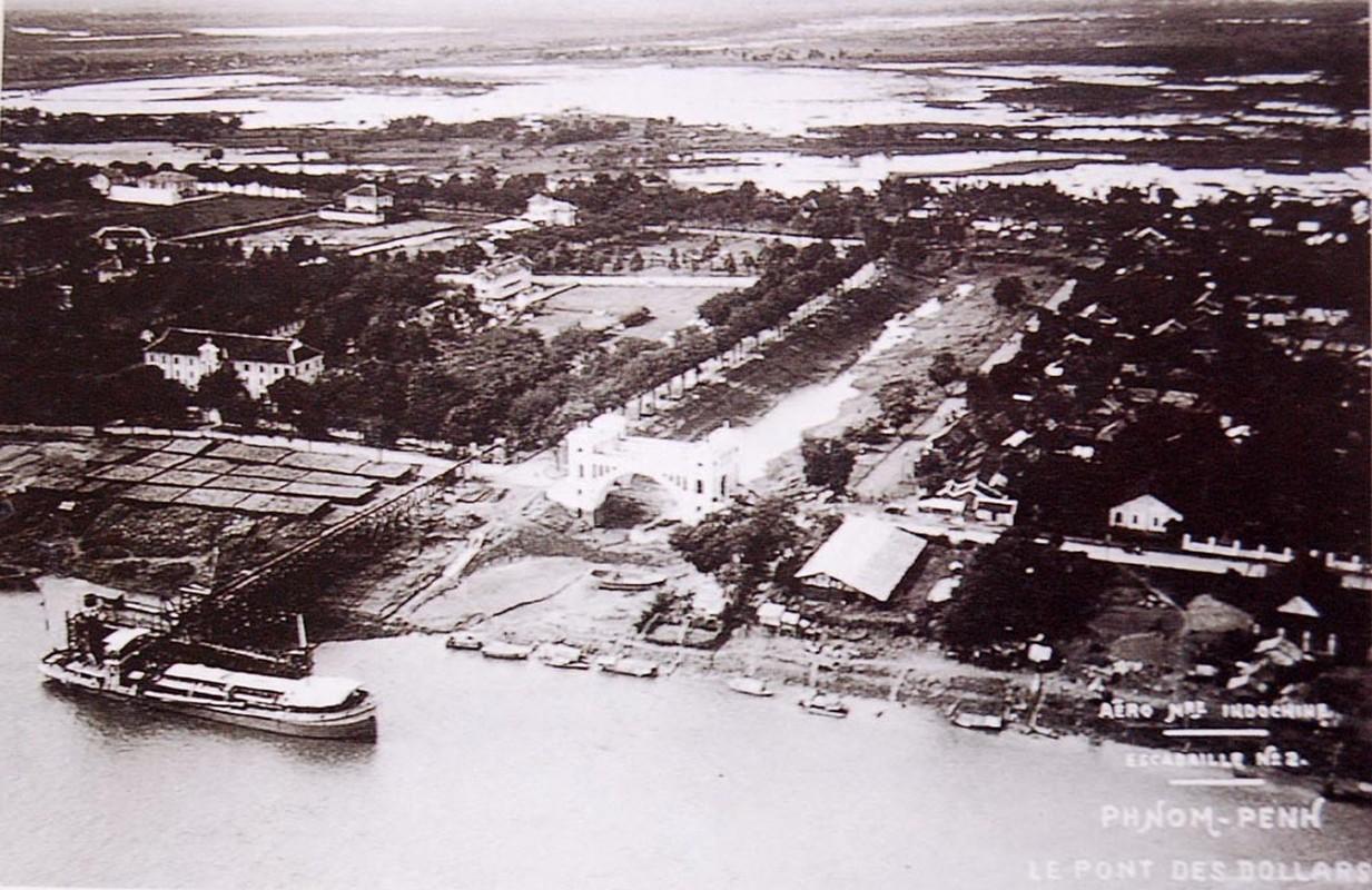 Goc nhin choang ngop tu may bay ve thanh pho Phnom Penh xua-Hinh-4