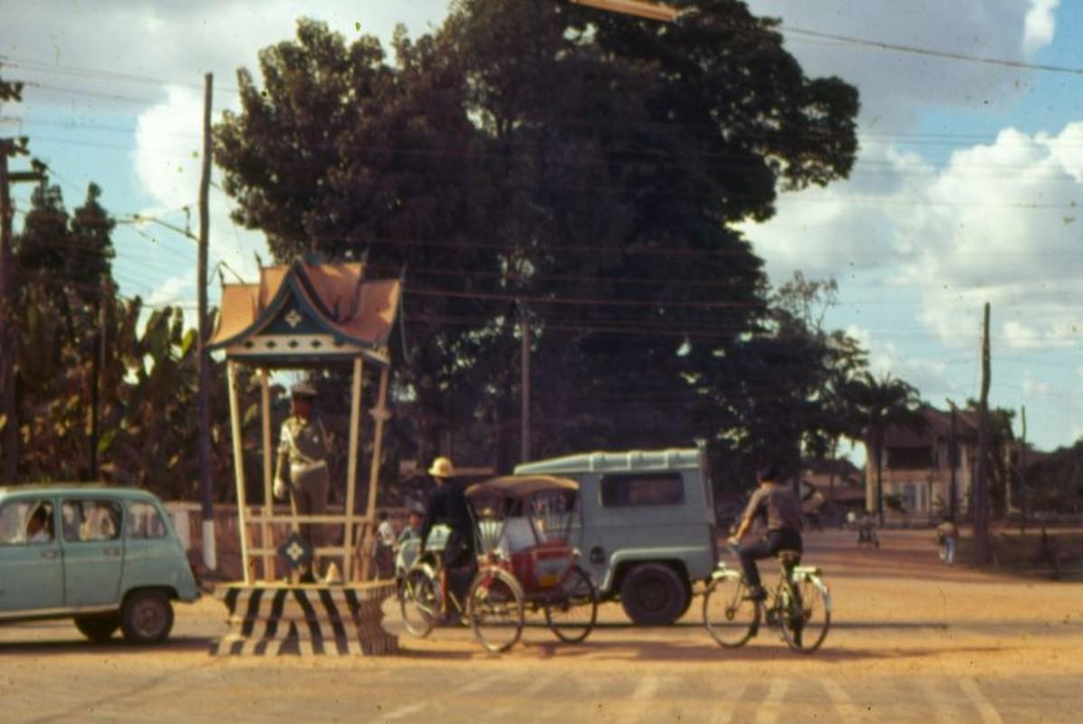 Tan muc cuoc song o thu do Vieng Chan cua Lao thap nien 1960