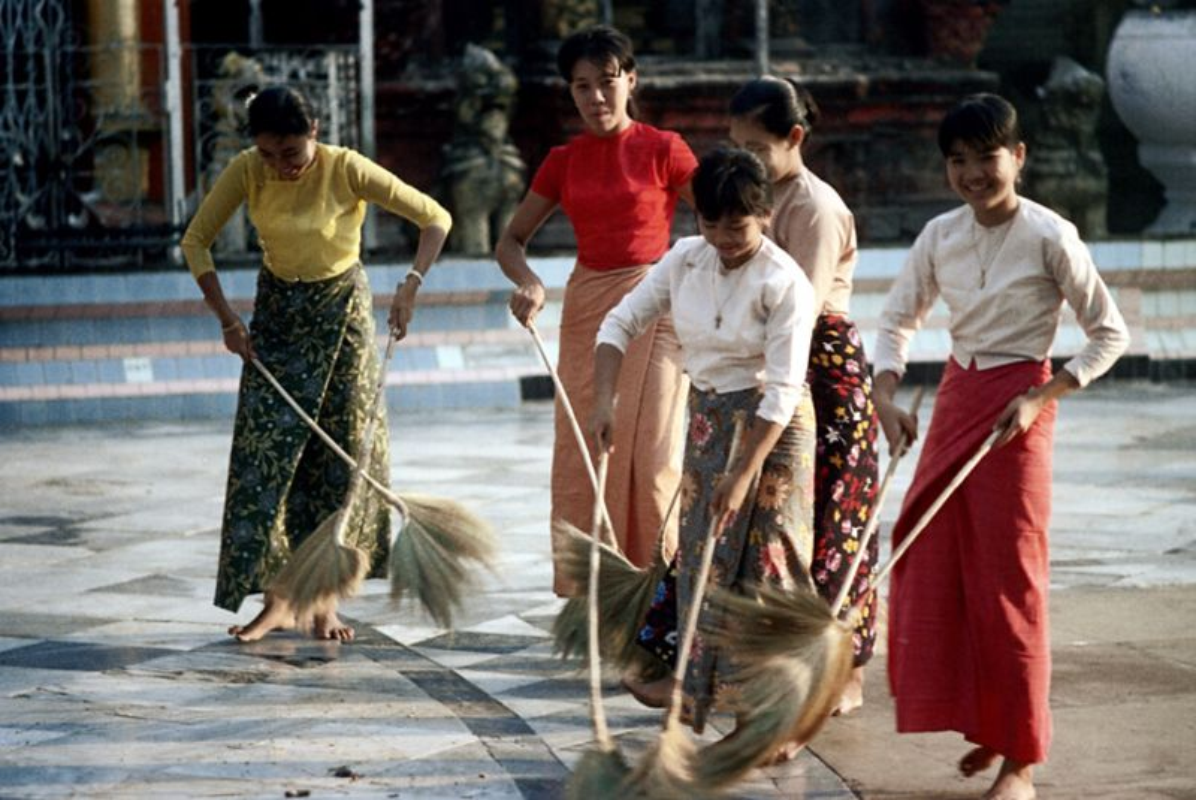 Ve dep hon hau cua thieu nu Myanmar thap nien 1970-Hinh-11