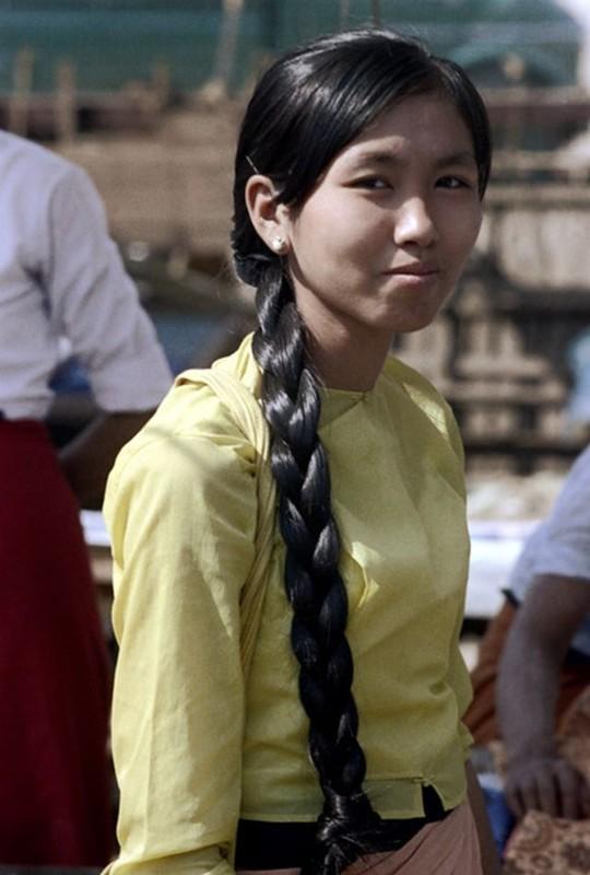 Ve dep hon hau cua thieu nu Myanmar thap nien 1970-Hinh-3