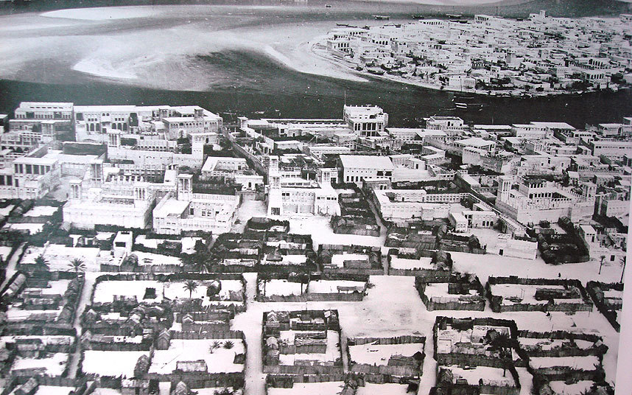 Khong ngo thanh pho noi tieng nhat UAE thap nien 1950-1960 don so nhu vay