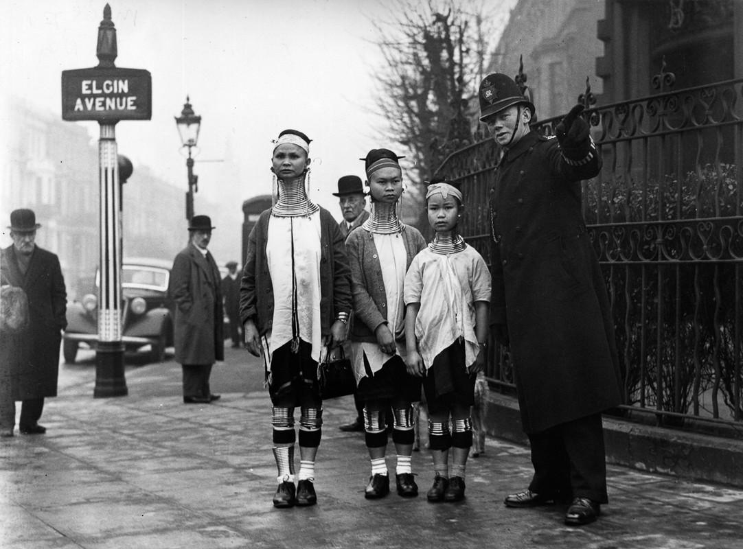 Anh la: Son nu co dai Mien Dien tham London nam 1935-Hinh-5