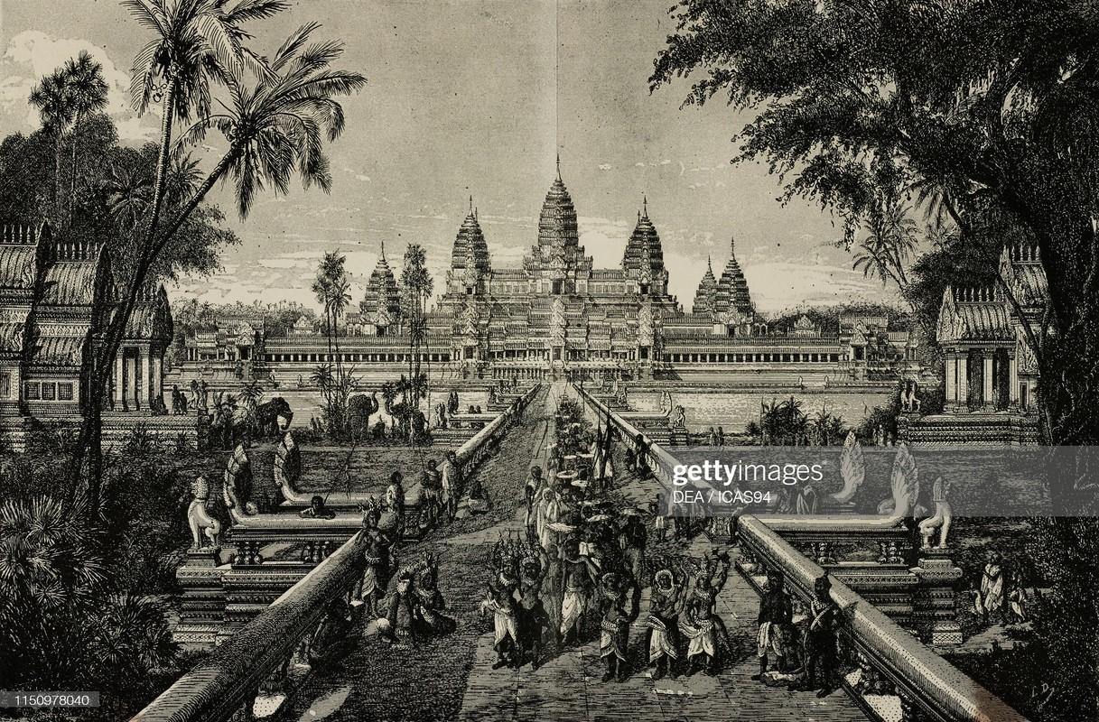 Hinh anh gay sung sot ve den Angkor Wat 140 nam truoc-Hinh-10