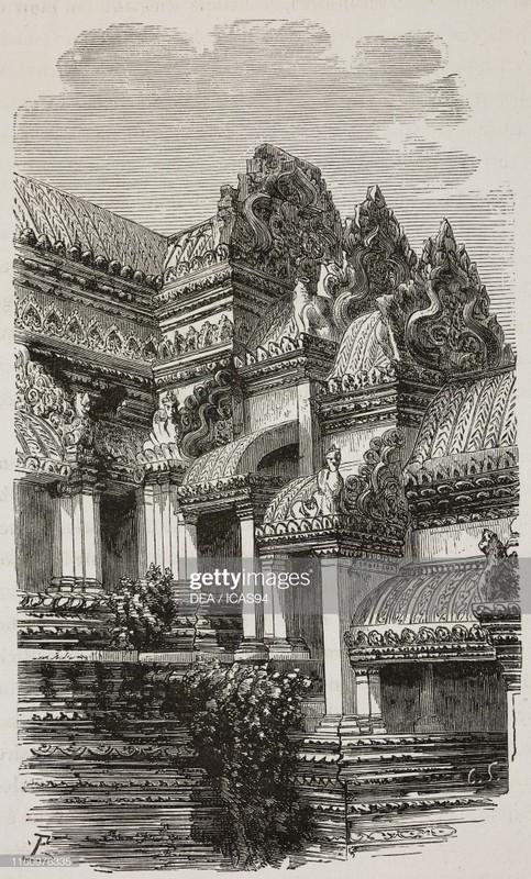 Hinh anh gay sung sot ve den Angkor Wat 140 nam truoc-Hinh-5