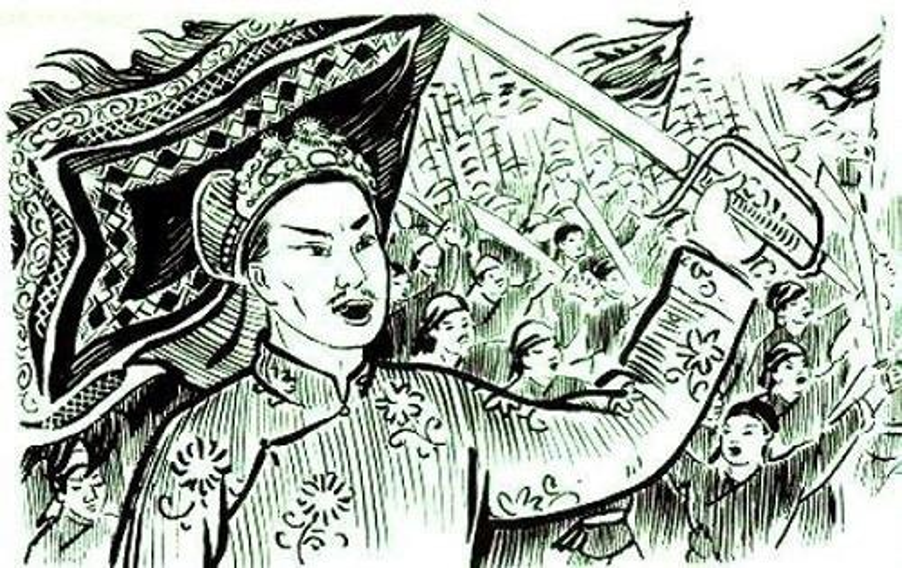 Vi tuong gioi nhat cua Le Loi duoc trieu Nguyen tho trong Vo Mieu-Hinh-4