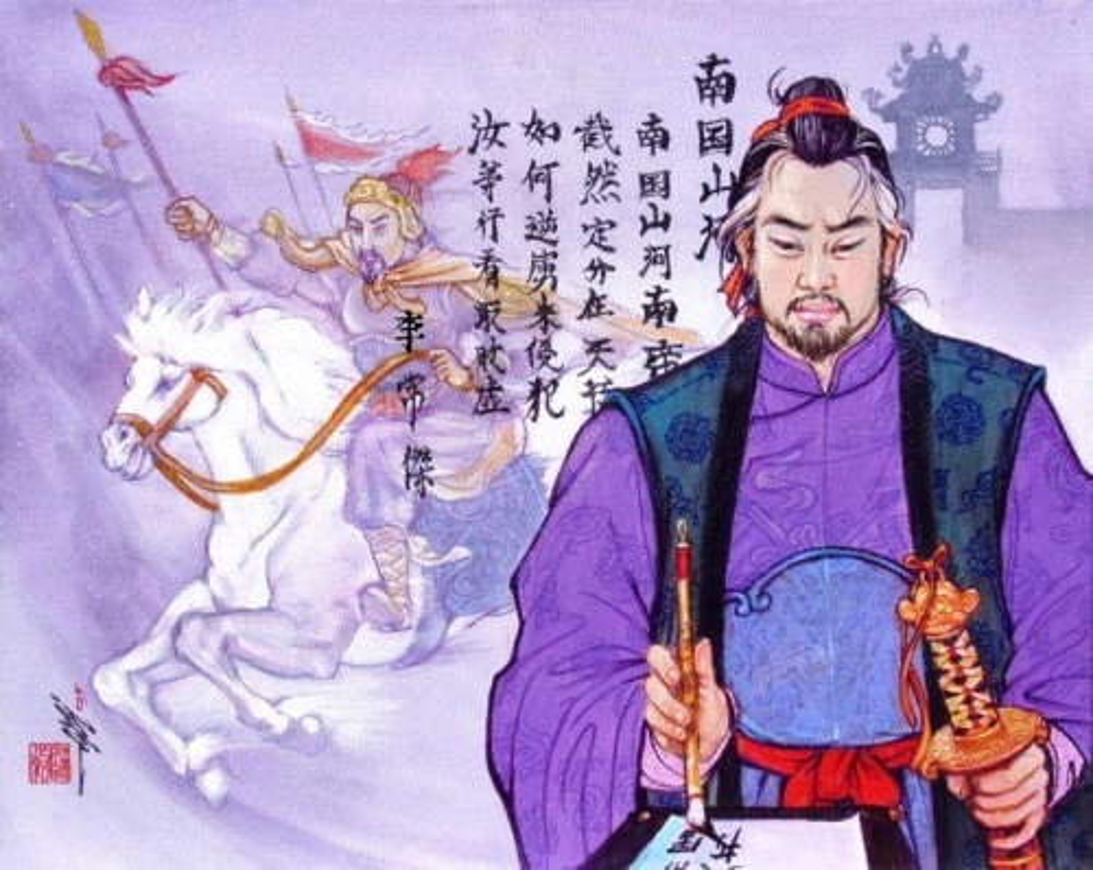 "Ai la tac gia bai tho ""Nam quoc son ha"" khien quan Tong so hai"