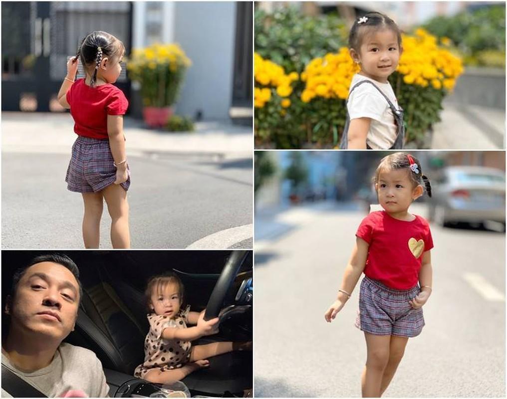 Con gai 3 tuoi xinh xan cua Lam Truong va vo 9X
