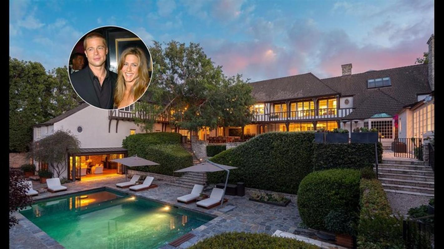 Biet thu cu cua Jennifer Aniston va Brad Pitt gia 44,5 trieu USD-Hinh-4