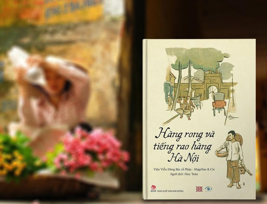 Ganh hang rong tren pho Ha Noi xua