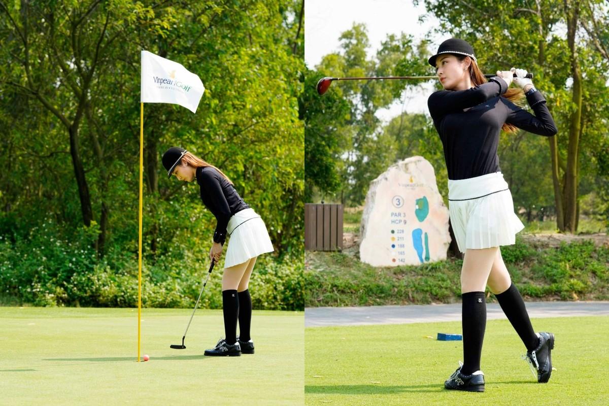 A hau Huyen My tro tai choi golf-Hinh-2