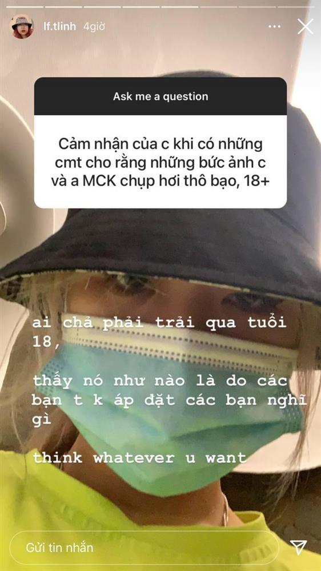 Bi nem da vi hinh anh noi loan: My Anh xin loi, Tlinh phan doi-Hinh-7