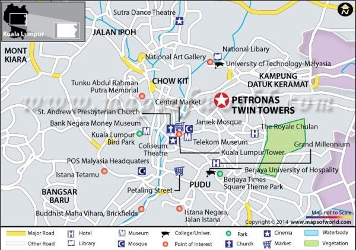 Kham pha Thap doi Petronas - Niem kieu hanh cua nhan dan Malaysia