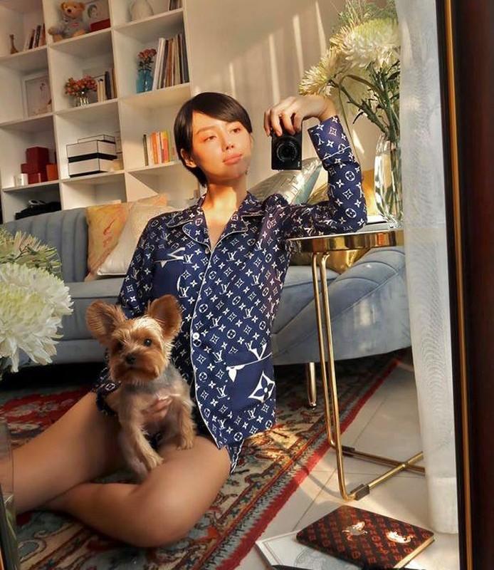Ha Ho, Le Quyen mac do ngu pyjama thoi ma nhin gia ma hoang-Hinh-6