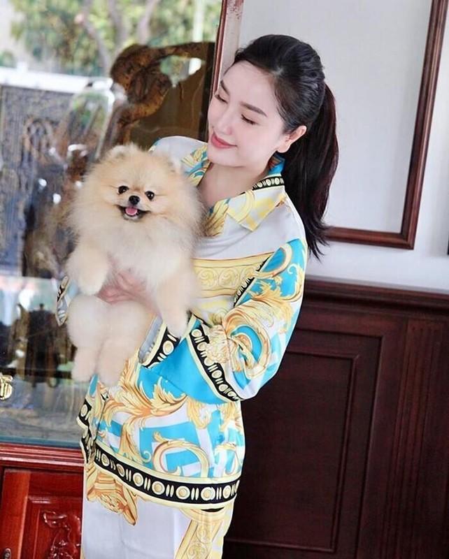 Ha Ho, Le Quyen mac do ngu pyjama thoi ma nhin gia ma hoang-Hinh-7