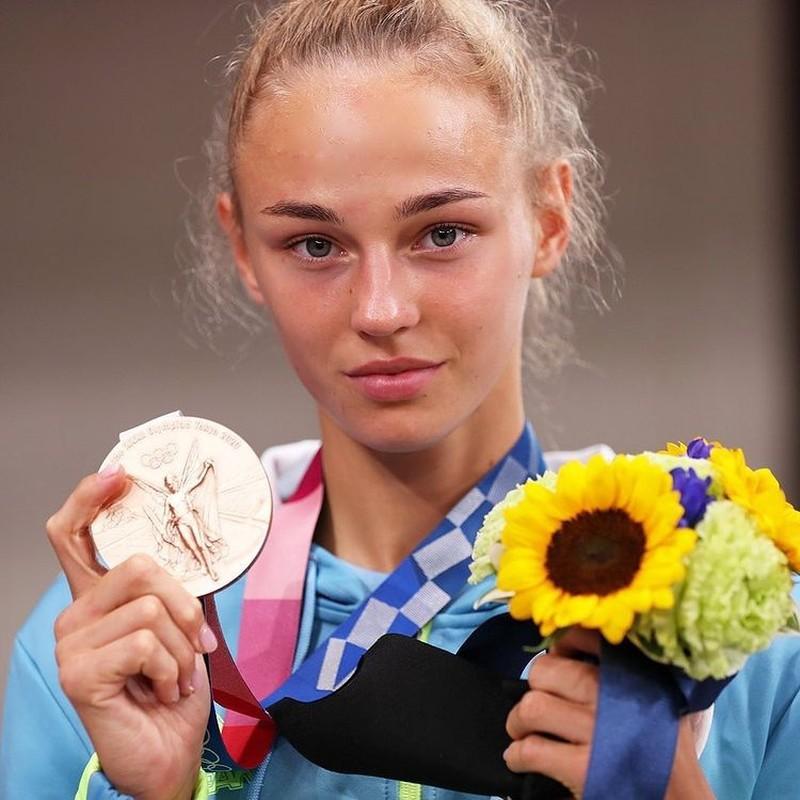 Nu vo si gianh huy chuong dau tien cho Ukraine tai Olympic