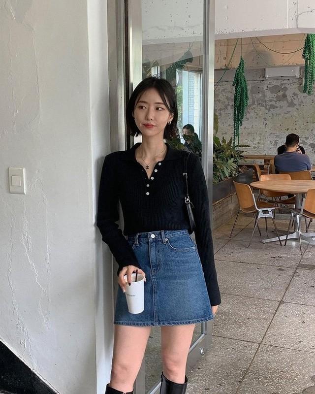 Style gai Han tuan qua: Dien toan items co ban nhung mix match day sang chanh-Hinh-5