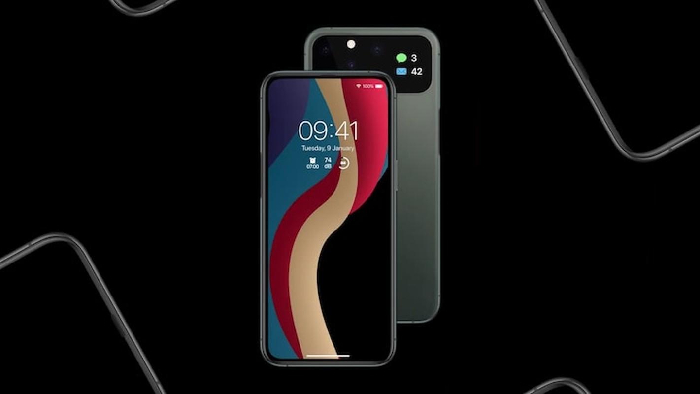 iPhone 12 dep me man: Man hinh tran vien toan ven, 5 camera sau-Hinh-17