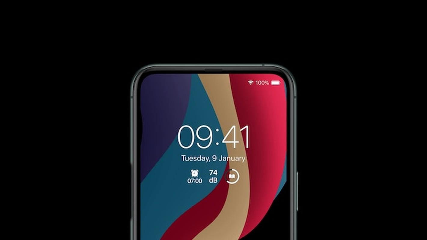 iPhone 12 dep me man: Man hinh tran vien toan ven, 5 camera sau-Hinh-6