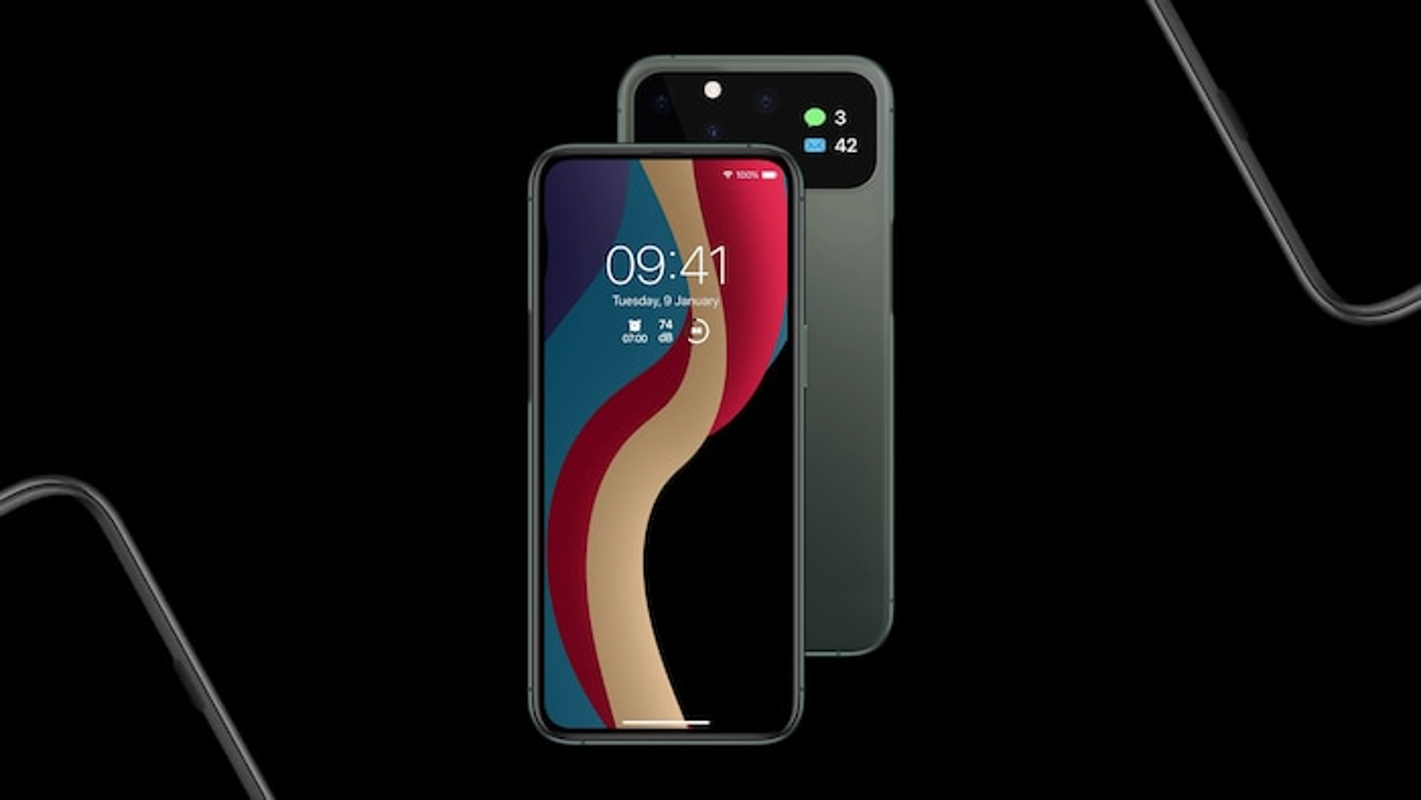 iPhone 12 dep me man: Man hinh tran vien toan ven, 5 camera sau-Hinh-7