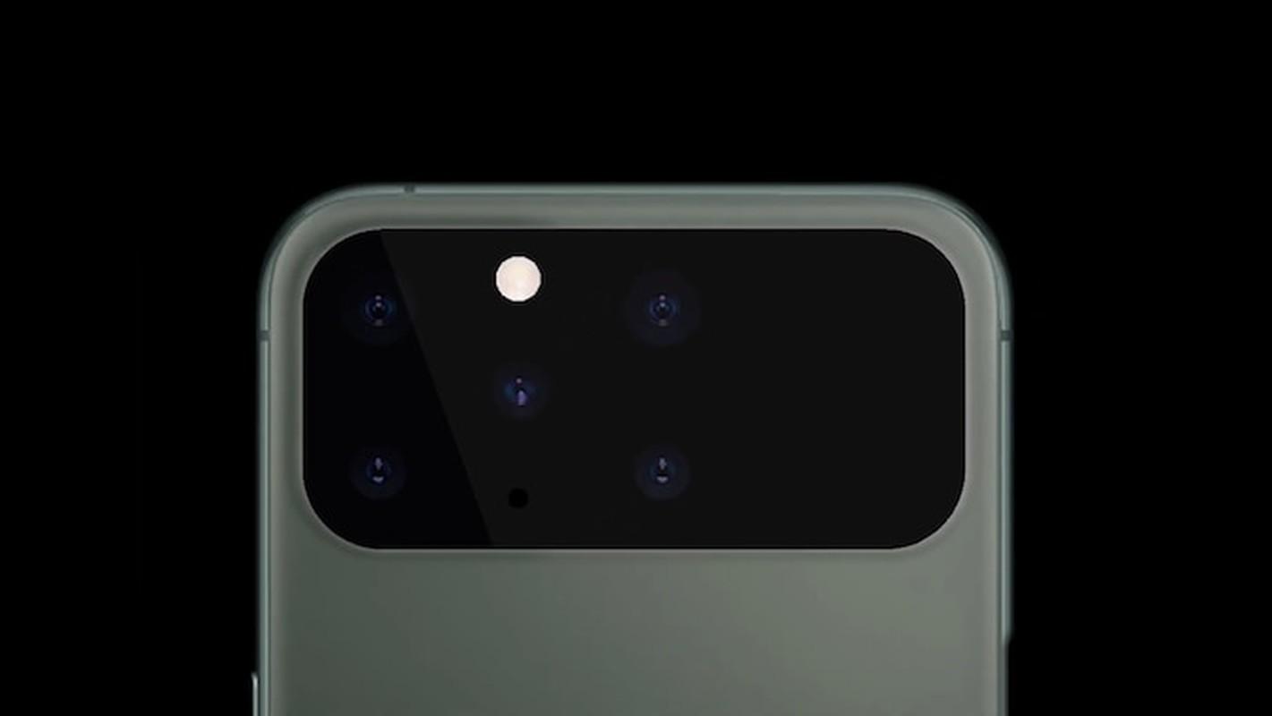 iPhone 12 dep me man: Man hinh tran vien toan ven, 5 camera sau-Hinh-9