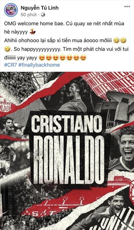 """Ronaldo tro lai MU, fan Viet: """"Di dau cung khong bang nha minh""""-Hinh-4"""