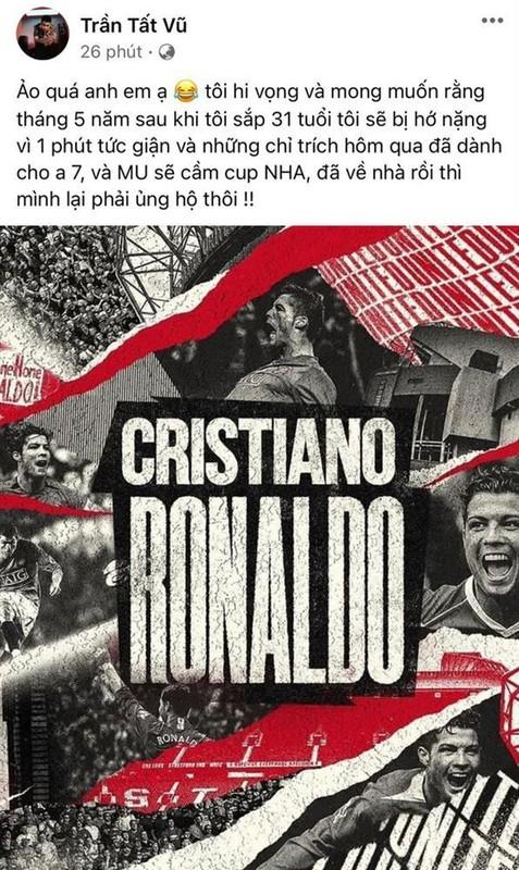 """Ronaldo tro lai MU, fan Viet: """"Di dau cung khong bang nha minh""""-Hinh-5"""